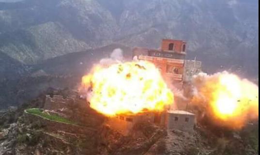 صنعاء: استشهاد وإصابة 7 مواطنين إثر غارة لطيران العدوان استهدفت منزلا في نهم
