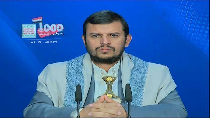 نص كلمة السيد عبد الملك بدر الدين الحوثي بمناسبة مرور 1000 يوم على العدوان 19-12-2017
