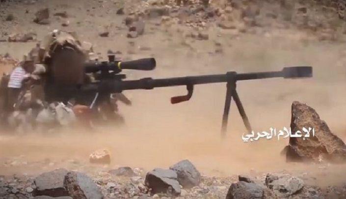 وحدة القناصة للجيش واللجان تتمكن من قنص اكثر من 40 جندي سعودي ومرتزق خلال الساعات الماضية