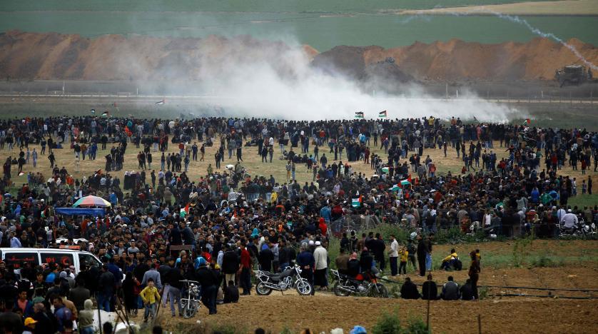 ارتفاع حصيلة شهداء مسيرة العودة الكبرى شرق غزة إلى 61 شهيدا